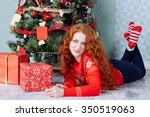 christmas new year inspiration... | Shutterstock . vector #350519063