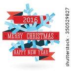 vector snowflake  geometric... | Shutterstock .eps vector #350529827