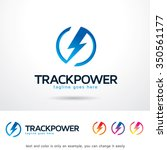 track power logo template... | Shutterstock .eps vector #350561177