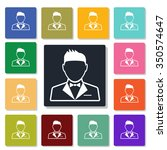 bridegroom icon | Shutterstock .eps vector #350574647