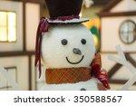 Snowman Close Up.