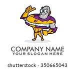 robot car character... | Shutterstock .eps vector #350665043
