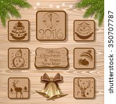 set of design elements for... | Shutterstock .eps vector #350707787