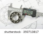 measuring and precision concept | Shutterstock . vector #350713817