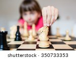 young white child playing a... | Shutterstock . vector #350733353