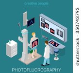 photofluorography process flat... | Shutterstock .eps vector #350743793