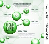 business infographic template.... | Shutterstock .eps vector #350752793