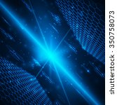abstract background  hexagonal... | Shutterstock .eps vector #350758073