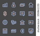 money web icons | Shutterstock .eps vector #350861153