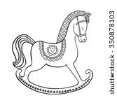 coloring page. hand drawn... | Shutterstock .eps vector #350878103
