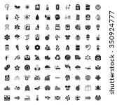 ecology icons set.    Shutterstock .eps vector #350924777