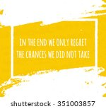 creative typographic poster... | Shutterstock .eps vector #351003857