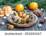 Mandarins Covered With...