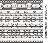 vector grunge monochrome... | Shutterstock .eps vector #351029897