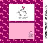 parent. template design for an... | Shutterstock .eps vector #351039347