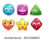 funny cartoon vector characters ...