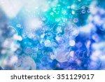 lights background | Shutterstock . vector #351129017