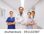 clinic  profession  people ... | Shutterstock . vector #351132587