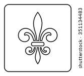 Fleur De Lis Symbol. Fleur De...