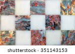 marble texture background... | Shutterstock . vector #351143153