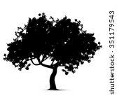 vector illustration   tree... | Shutterstock .eps vector #351179543
