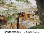 authentic wedding wonderful... | Shutterstock . vector #351214613