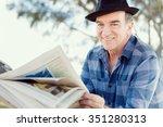 Senior Gentleman Reading...