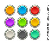 colorful game buttons. gui...