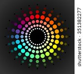 Color Wheel Vector Template...