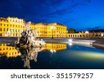 Vienna By Night  Schonbrunn...