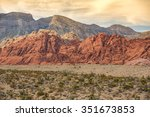 Red Rock Canyon Near Las Vegas...