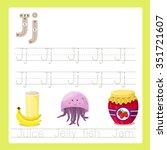 illustrator of j exercise a z... | Shutterstock .eps vector #351721607