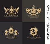 Luxury Crests Logo Set.lion...