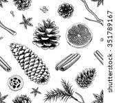 winter background   Shutterstock .eps vector #351789167