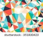 Abstract Bright Colorful Rando...