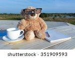 Brown Bear Dolls With Coffee...