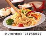 Fried Noodles And Vegetables