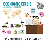 Economic Crisis. Frustrated...