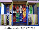 sutton on sea  lincolnshire  uk.... | Shutterstock . vector #351973793