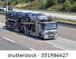 frankfurt germany   aug 10 ... | Shutterstock . vector #351986627
