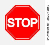 a red octagonal stop sign  stop