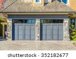 garage door in vancouver ... | Shutterstock . vector #352182677