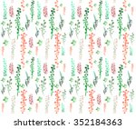 seamless pattern   consisting... | Shutterstock . vector #352184363