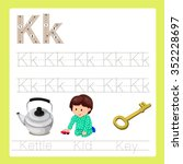 Illustration Of K Exercise A Z...