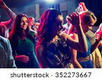 party  holidays  celebration ... | Shutterstock . vector #352273667
