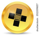 medical patch icon. internet... | Shutterstock . vector #352359857