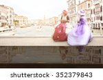 blurred background of carnival... | Shutterstock . vector #352379843