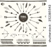 tribal elements collection.... | Shutterstock .eps vector #352385543