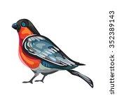 vector background with... | Shutterstock .eps vector #352389143