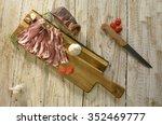 traditional romanian food... | Shutterstock . vector #352469777